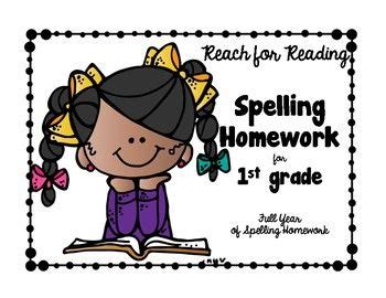 1st Grade Spelling Homework - Center Grove Community